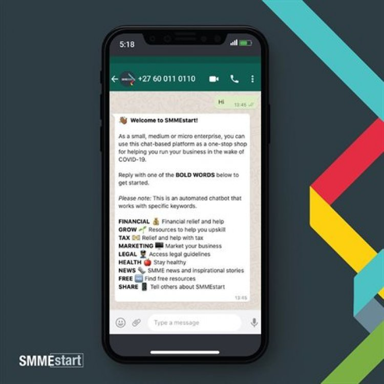 Chat-based business-recovery resource launched on WhatsApp to assist SMMEs during Covid-19